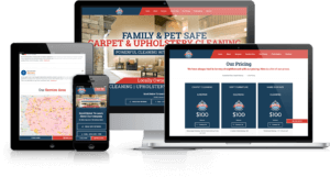 Guaranteed Clean carpet cleaning website