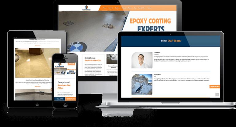 Hi Definition carpet cleaning website