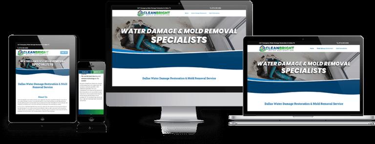 disaster restoration website